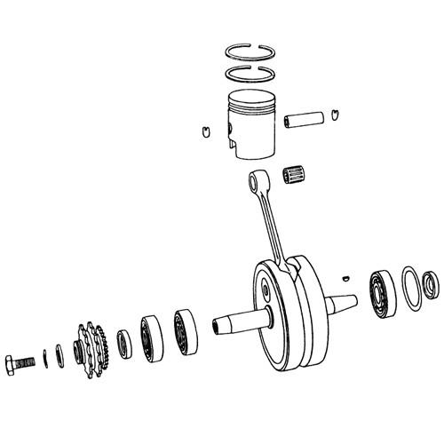 4.5 - Vilebrequin, piston
