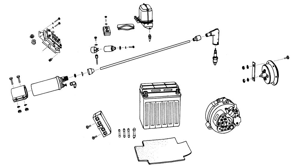 3.5 - Pièces électriques internes