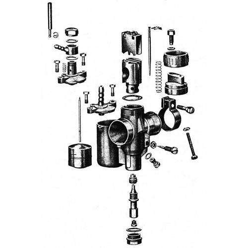 Carburateur - les composants