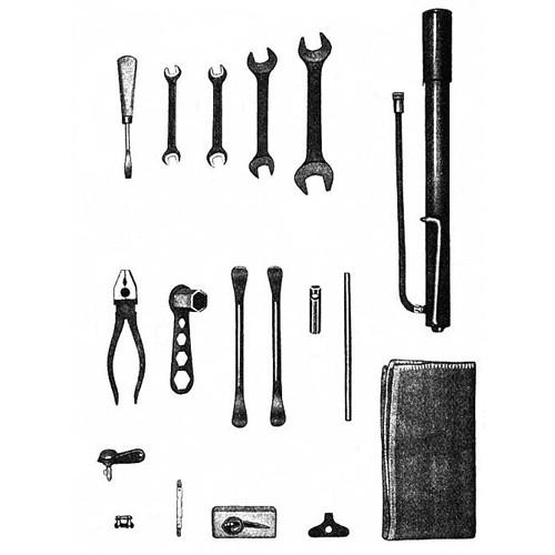 Trousse à outils MZ RT 125/1 125/2