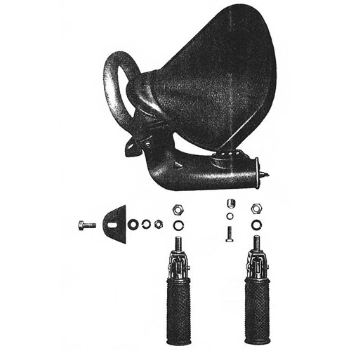 Siège arrière RT 125/1 125/2