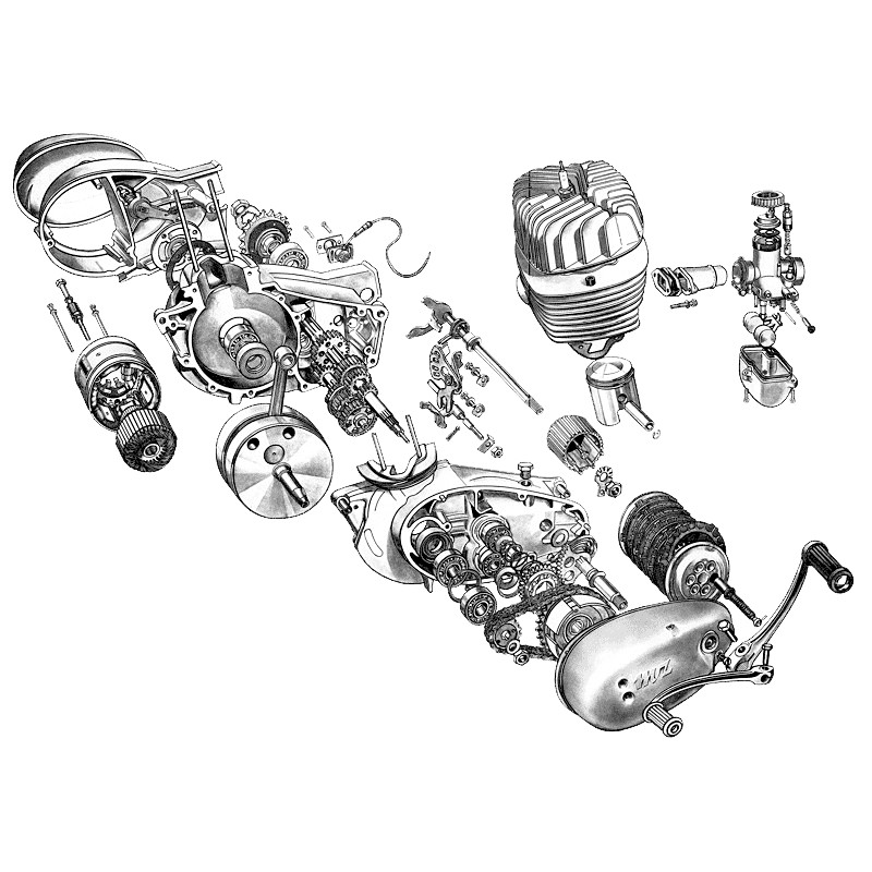 125cc 2 stroke engine