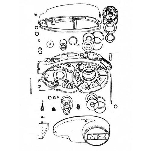 17 - Bloc moteur