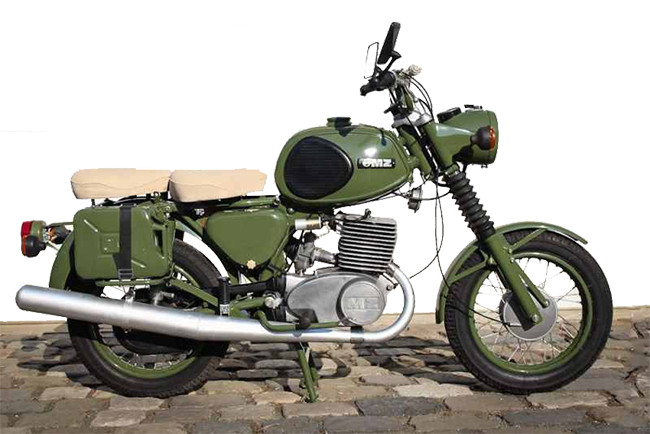 MZ TS 250/1 Armée