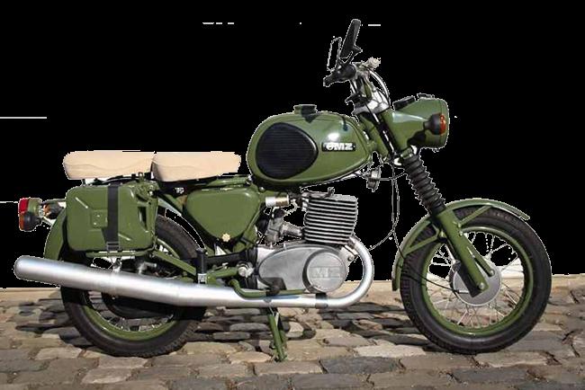 MZ TS 250 Armée