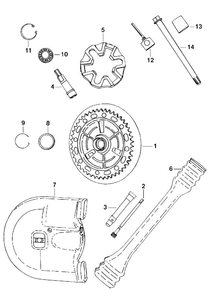 7 - Transmission arrière