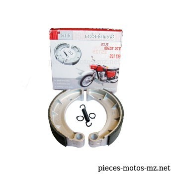 Mâchoires de frein diam. 150 mm MZ ES TS ETS ETZ 125 150 - 01-24.315