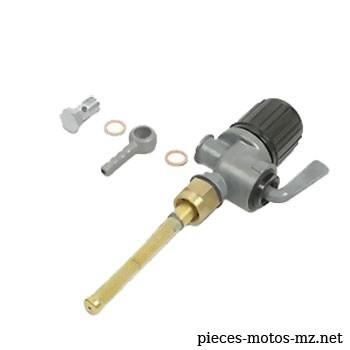 Robinet essence EHR MZ RT 125, IFA BK 350 avec raccord droit - 01-827.207-0