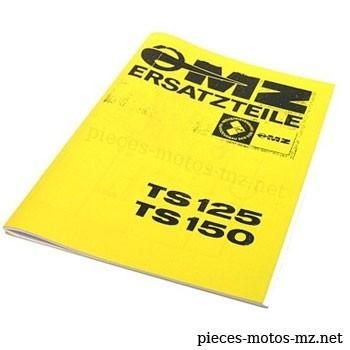 Catalogue de pièces MZ TS 125 150 - DE