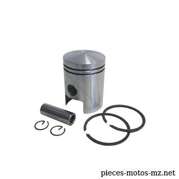 Piston complet 52,50mm pour motos MZ RT 125/3, MZ ES 125, MZ ES 125/1, MZ ETS 125/1, MZ TS 125 - Référence MZ : 52.3