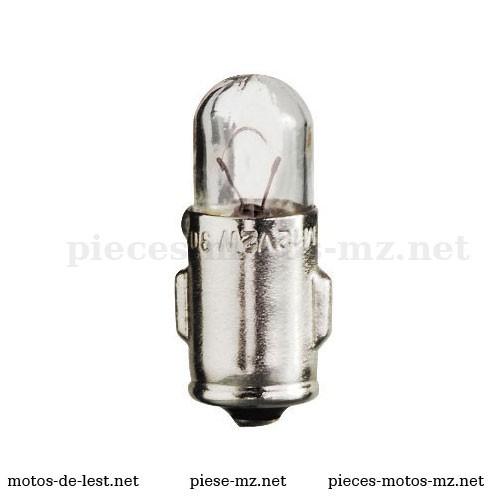 Ampoule Tungsram 12V 2W BA7S MZ ETZ 125 150 250 251 301 - Références MZ 80-50.547, 915228