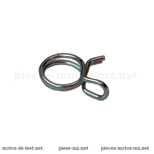 Collier fil à ressort diam. 7,8 - 8,3 mm durite essence - huilte toutes MZ - 80-20.612