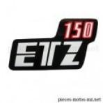 Autocollant ETZ 150 couvercles latéraux MZ ETZ 150
