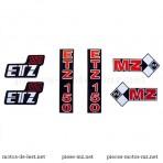 Set autocollants MZ ETZ 150 (HU)