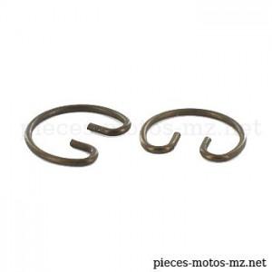 Circlips (paire) axe piston MZ ES TS ETS ETZ 125 150, MZ RT 125 - 80-04.006