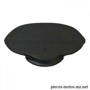 Selle noire IFA BK 350, MZ RT 125, logo IFA - MZ 02-827.42-0