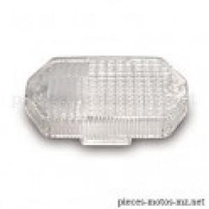 Cabochon transparent hexagonal clignotant MZ ETZ