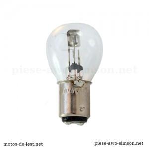 Ampoule 6 Volts BA15D 15/15W - Elta