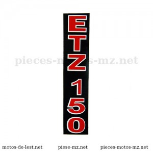 Autocollant - sticker ETZ 150 fourche suspension avant MZ ETZ 150 (HU)