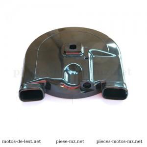Carter couronne dentée de chaîne roue arrière MZ ES 125, MZ ES 150, MZ ETS 125, MZ ETS 150, MZ TS 125, MZ TS 150 - Référence MZ 13-25.041