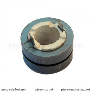Collecteur graphite de rotor 8046.2-100 d'alternateur 12 Volts MZ ETZ 125, MZ ETZ 150, MZ ETZ 250, MZ ETZ 251, MZ ETZ 301 - Pièces d'origine DDR