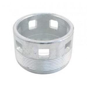 Ecrou fixation collecteur échappement MZ ES 175 250, MZ ETS 250, MZ TS 250 250/1, zingué, diamètre 40 mm, Fero - 16-27.153